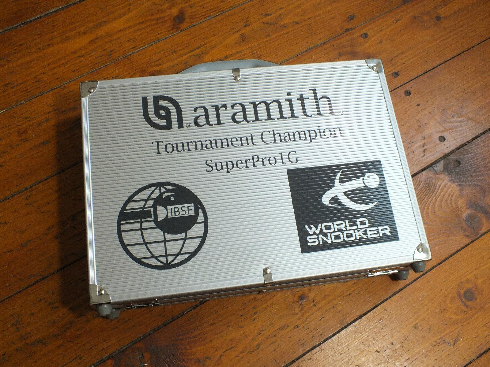 Aramith 1G SUPERPRO World Champion MATCH professionnelle  snooker Balles en cas  à la mode