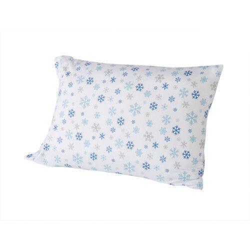 SNOWFLAKES SNOW XMAS MICROFIBER SHEET SET FLAT FITTED KING QUEEN FULL TWIN NEW