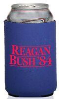 Funny Guy Mugs Reagan Bush 84' Can Koozie, New, Free Shipping on sale