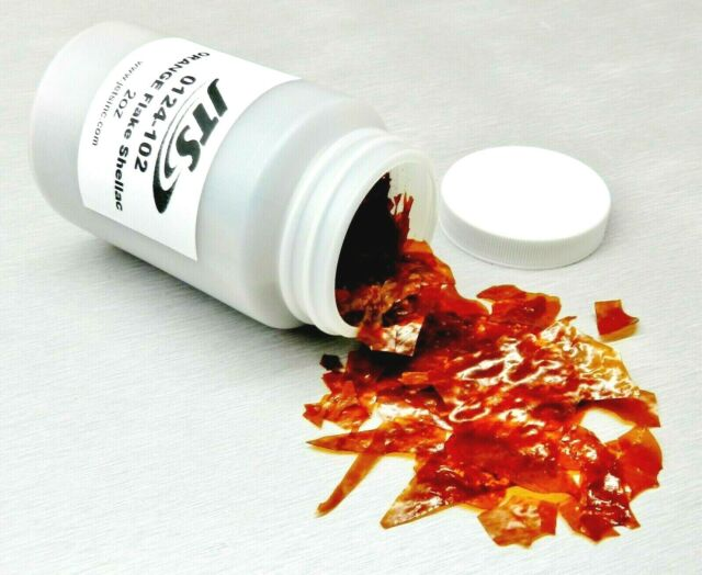 Orange Flake Shellac 2oz Jewelry Watchmaker Engraving Adhesive Setters Cement