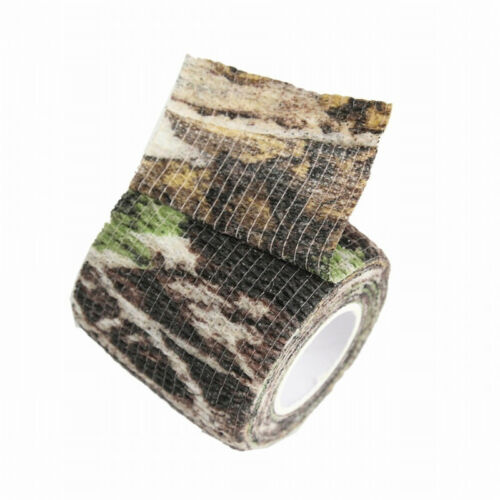 Camo Camouflage Stealth Tape Wrap Waterproof Hunting Camping Hiking 4 Colors