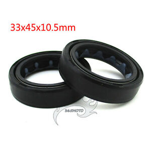 33x45x10-5mm-Front-Fork-Oil-Seal-For-110cc-125cc-140cc-150cc-160cc-Pit-Dirt-Bike
