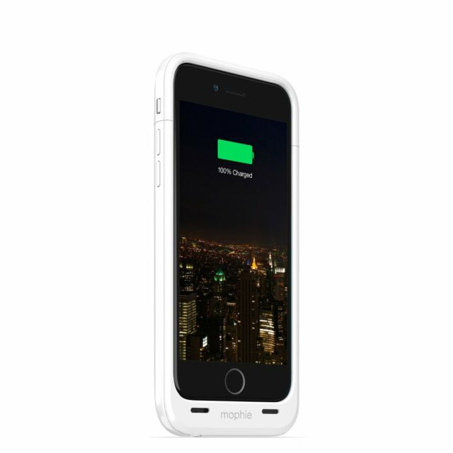 newest 2794b 5754c mophie juice pack plus for iPhone 6 (3,300 mAh) - White