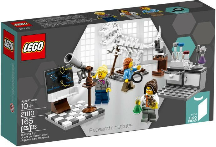 LEGO Ideas  008 - 21110 - Research Institute -  NEW/Sealed - Female Scientists