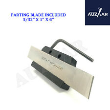 Lathe Clamp Type Parting Cut Off Tool Holder 12 Inch Shank With Hss Blade 1