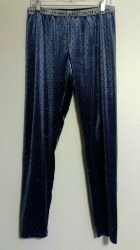 Large Blue Leggings segreto di Black Velvet Black s Blue in Large or velluto Or Nwt Victoria Leggings Secret TqOYxO