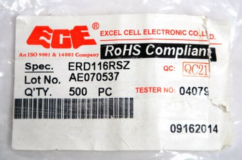 50pc Rotary Dip Switch BCD code ERD-116-RSZ 0~F Scale PCB PIN 3:3 10x10x5mm ECE