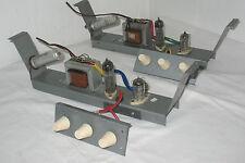 2 vintage german Tube Amp Module with tubes Ecc83 1x ELL80  made for Telefunken