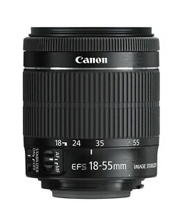 Canon-EF-S-18-55mm-18-55-f-3-5-5-6-IS-STM-Camera-Lens-Brand-New