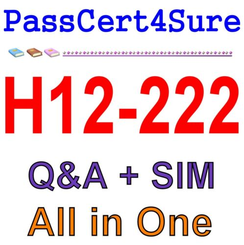 Huawei Certified Network Professional-R/&S-IENP H12-222 Exam Q/&A+SIM