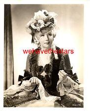 Vintage Cora Witherspoon MARIE ANTOINETTE '38 MGM ADRIAN FASHION PUB Portrait