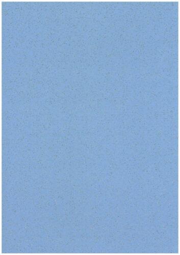 Lot de 20 feuilles French Blue A4 Stardust Paillettes Papier Shimmer Craft 120gsm
