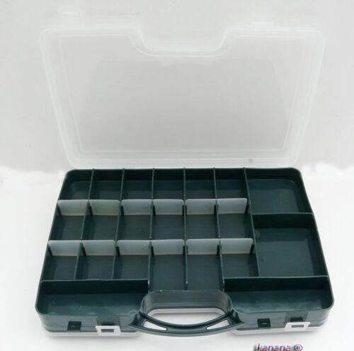 3xMP17 3 Stück Angelbox Köderbox zubehörbox Werkzeugbox Sortimentskasten