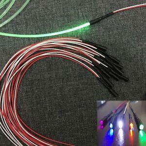 Details about 12V Led Flash Color Car Home PMMA Side Glow Fiber Optic Light  Source illuminator