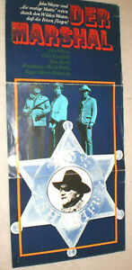 klein,Filmplakat,PLAKAT,Programm,DER MARSCHAL, JOHN WAYNE,Western-46