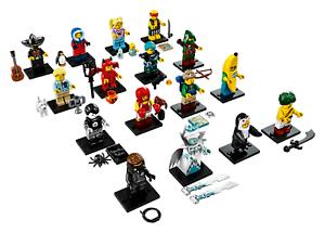 Ensemble complet Lego Minifigures série 16 - Livraison gratuite