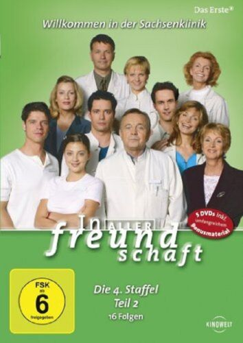 1 von 1 - 5 DVD Box * In aller Freundschaft - Staffel 4, Teil 2 * (4.2) * NEU OVP