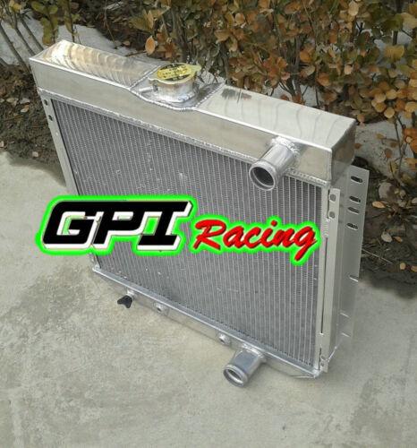 3 ROW RADIATOR FORD MUSTANG,MERCURY COUGAR 289,302,351 W//O AC V8 1967-69