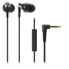 Audio-technica ATH-CKM300i/BK Earset Earphone for iPhone/iPad ATHCKM300i Black