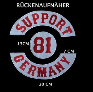 hells support 81 germany angels patch biker patch badge. Black Bedroom Furniture Sets. Home Design Ideas