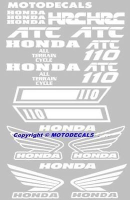 ATC110 atc 110 Tank Fender Sticker decal Kit 125 Tank Emblem Graphic Kit