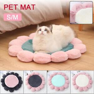 Pet-Soft-Bed-Mattress-Dog-Doggy-Cat-Cushion-Mat-Warm-Blanket-Flower-Shape-New