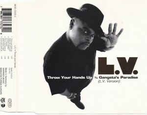 L.V. Feat. Treach - Throw Your Hands Up - Gangsta's Paradise (4 Track Maxi CD)