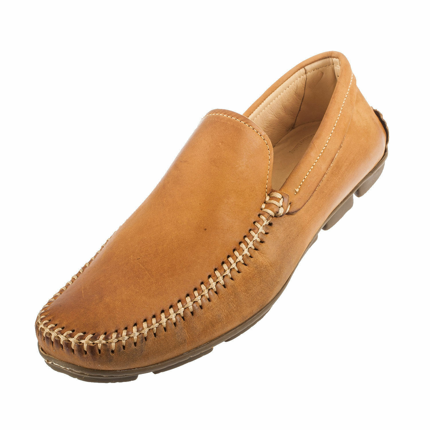 NEW ANATOMIC&CO ARUJA CASTOR VINTAGE TAN DRIVING SHOES LOAFERS SIZE UK 8 / EU 42