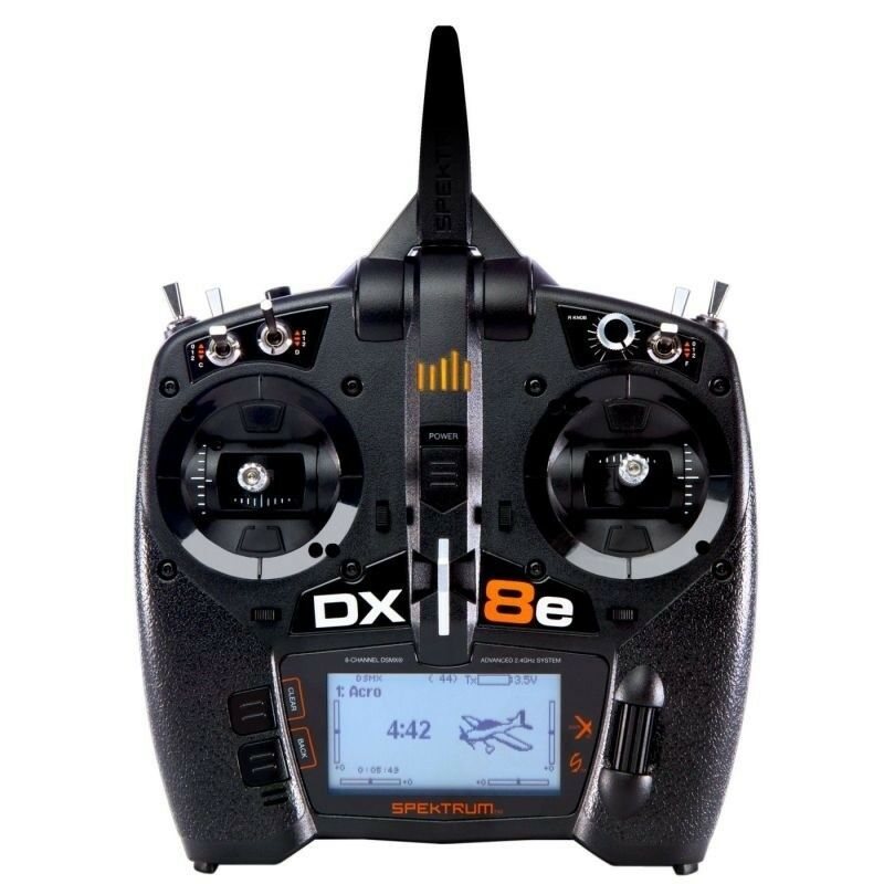 Espectro DX8e 8 canales control remoto - canal - SPMR8100EU