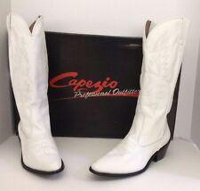 Capezio Professional Outfitter Dance White Cowboy Boots Size 10M