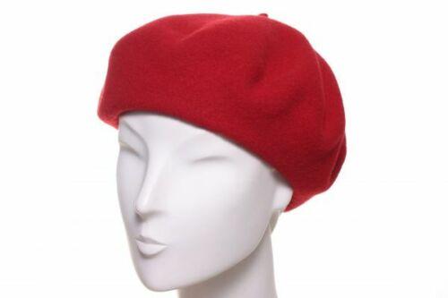 Loevenich béret rouge basque français Casquette ne BERET laine