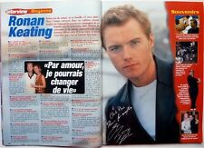 RONAN KEATING => 2 pages French Clipping (year 2000) !!!