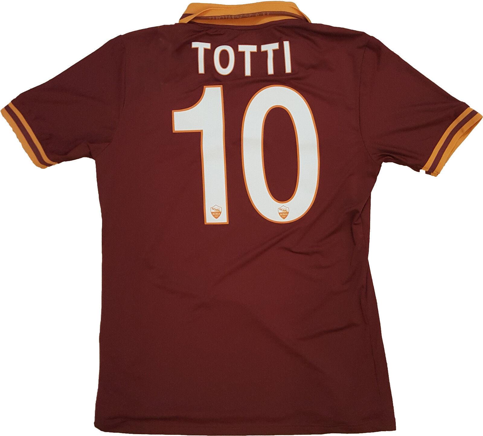 MAGLIA ROMA TOTTI issued Serie A A A JERSEY SHIRT 2013 2014 ROMA CARES rara M 7b0f5b