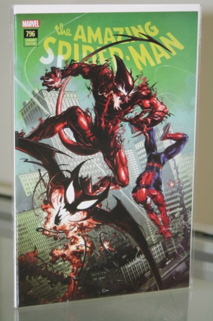MARVEL COMICS AMAZING SPIDER-MAN #796 COMICXPOSURE EXCLUSIVE VARIANT COVER