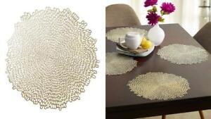 Benson Mills Bloom placemat Blossom-Blush