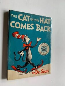 1958-1st-The-Cat-in-the-Hat-Comes-Back-by-Dr-Seuss-HCDJ-First-Ed-Early-Printing