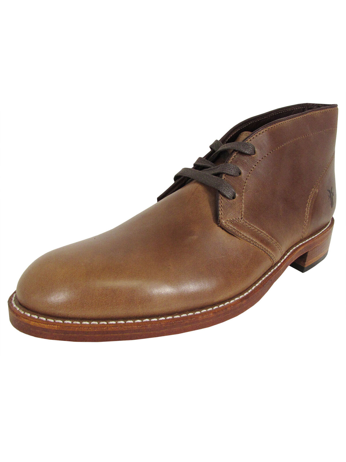 Frye Mens Walter Chukka Lace Up Ankle Boots, Tan, US 9.5