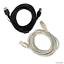 Black-Clear-USB-2-0-Extender-Cable-Extension-Lead-Male-to-Female-1-8m-3m-4-5m thumbnail 1