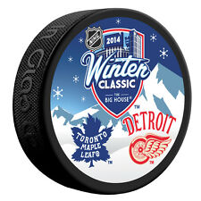 2014 NHL Winter Classic Dueling Style Puck- Toronto vs Detroit