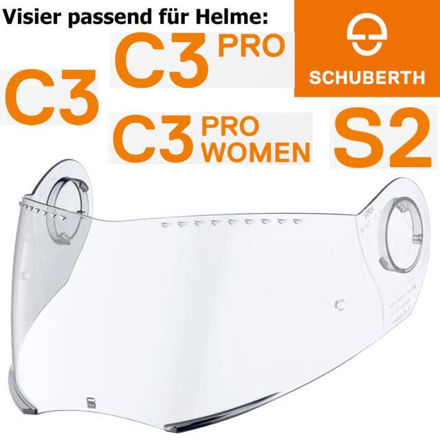 Visier Schuberth Integralhelm S2  klar  Gr.50-59
