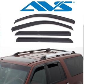 Avs Vent Shades >> Details About Avs Window Shades Vent Visors 4 Piece Smoke 97 17 For Ford Expedition Navigator