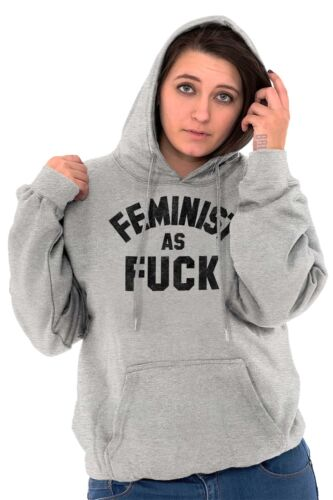 Feminist As F*** Feminism Women/'s Rights Activist Movement Hoodie