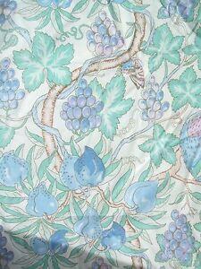A PIECE OF  LIBERTY FABRIC WILLIAM MORRIS  PRINT 17034 X 46034L MELROSE BLUE - TN29, Kent, United Kingdom - A PIECE OF  LIBERTY FABRIC WILLIAM MORRIS  PRINT 17034 X 46034L MELROSE BLUE - TN29, Kent, United Kingdom