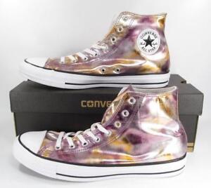 284c4ef446aa5a Converse Chuck Taylor All Star Hi High Top Sneaker PINK GOLD 157619F ...