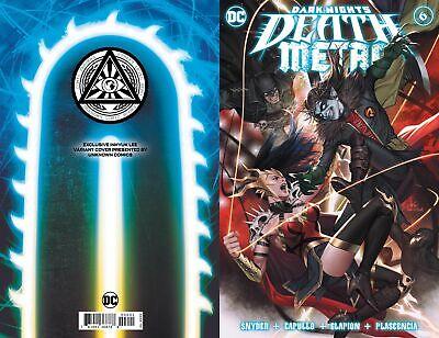 DARK NIGHTS DEATH METAL #2 OF 6 DC COMICS NEAR MINT 7//15//20
