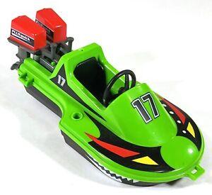 Playmobil-3041-Sea-Green-Speedboat-F606