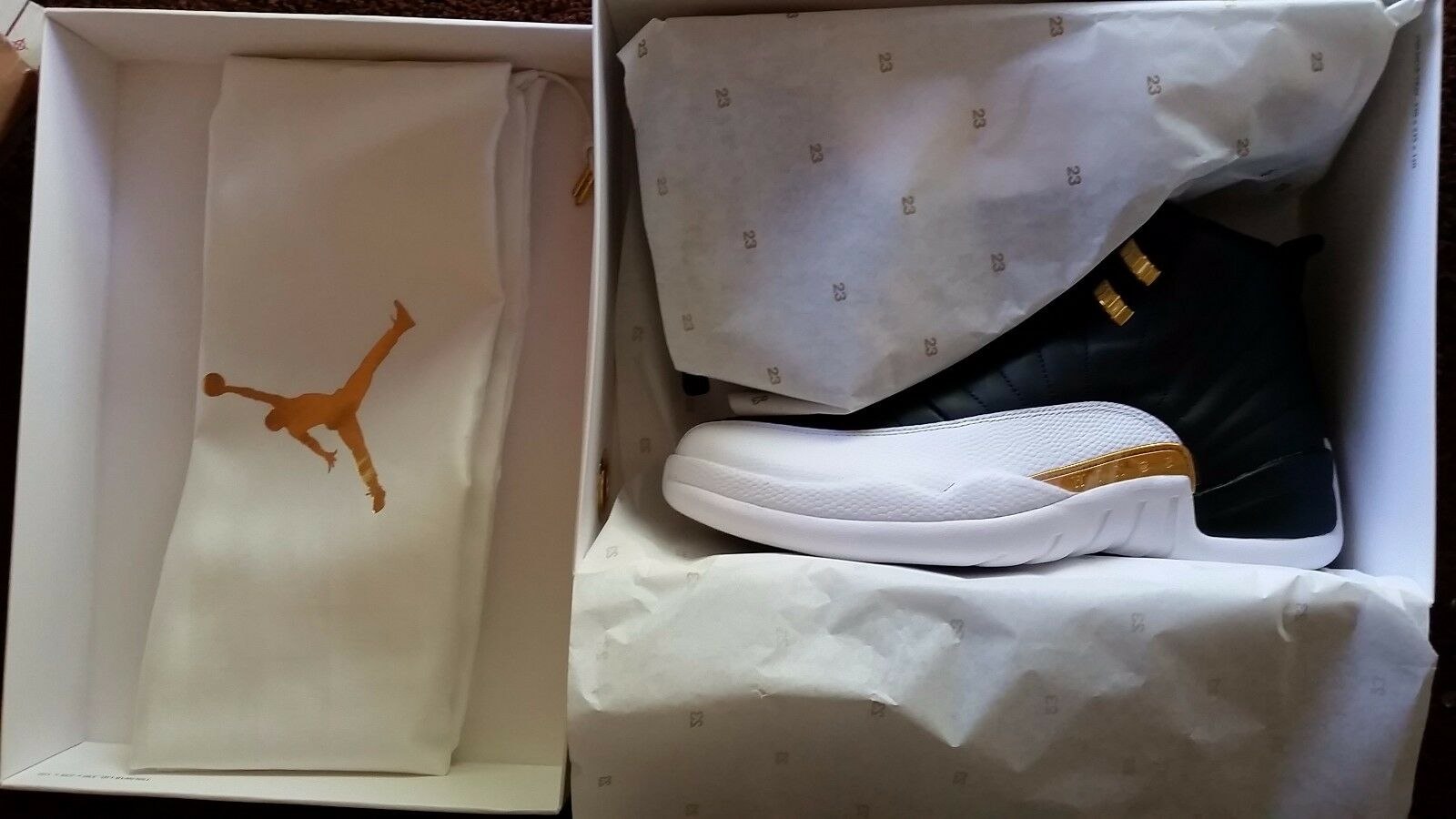 Air Jordan XII 12 Wings Size 9 Deadstock   12,000 RARE Authentic