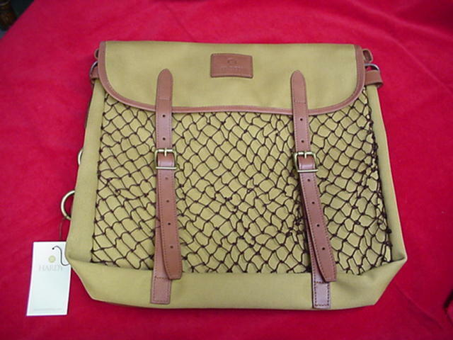 Hardy Fly Fishing Canvas Gear Troutfishers Bag Troutfishers Gear Bag NEW 27c560