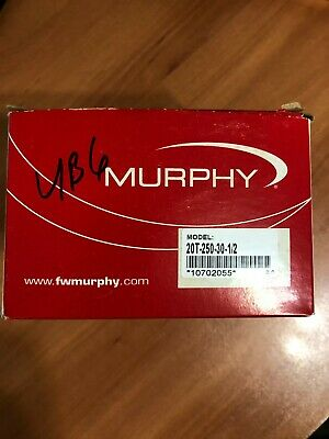 10702045 Murphy by Enovation Controls 20T-250-10-1//2 Temperature Swichgage
