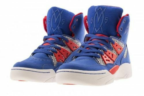 Adidas Men's Mutombo Basketball Shoes TRIBAL PRINT Size 7.5 us Q33017